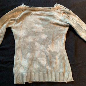 Parasuco Tops - ▪️Parasuco▪️Distressed V-Neck Sweater